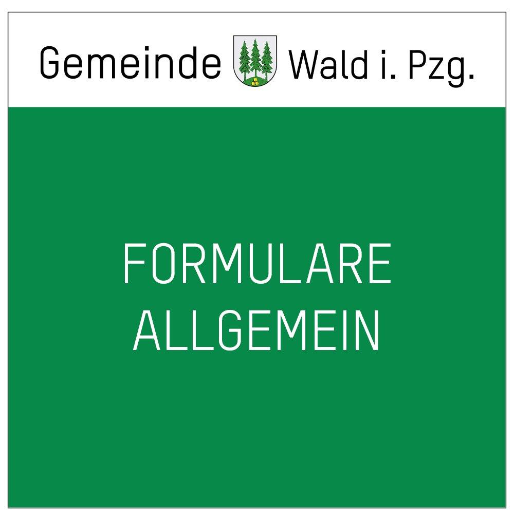 Formulare-Allgemein